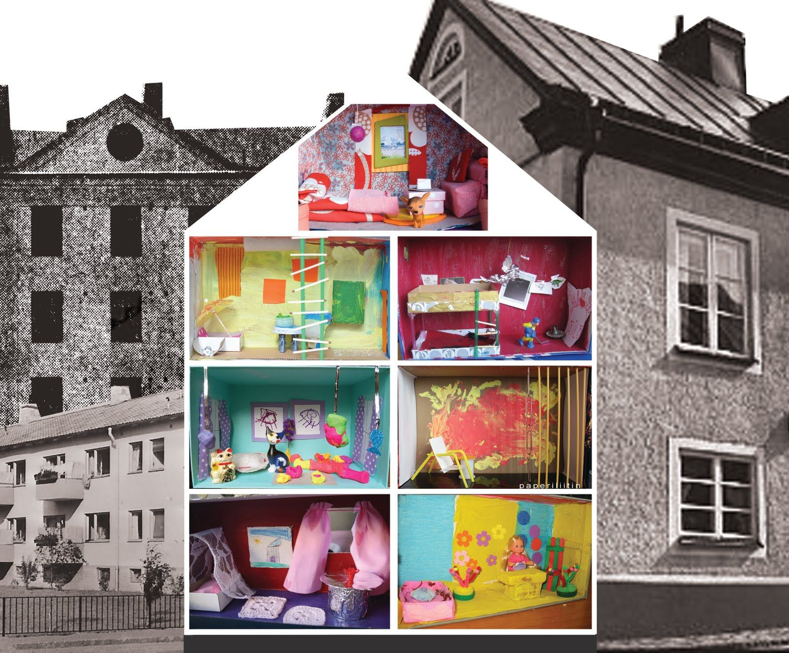 Found On Cath Kidston S Fb Page In Her Dream Room In A: Shoebox Condo. Each Kid Gets To Design His/her Own Shoebox