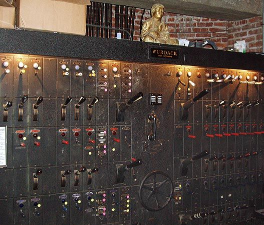 Old School Lighting Control Panel Sound And Lights