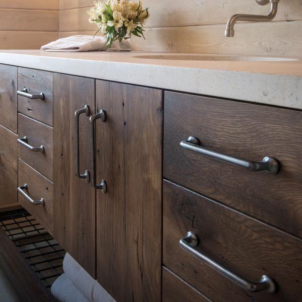 Cabinet hardware gallery grant and kristen farmhouse - Kitchen cabinet interior hardware ...