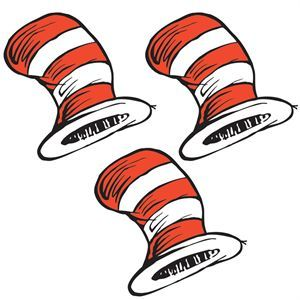 Dr. Seuss™ Cat In The Hat Themed Stickers