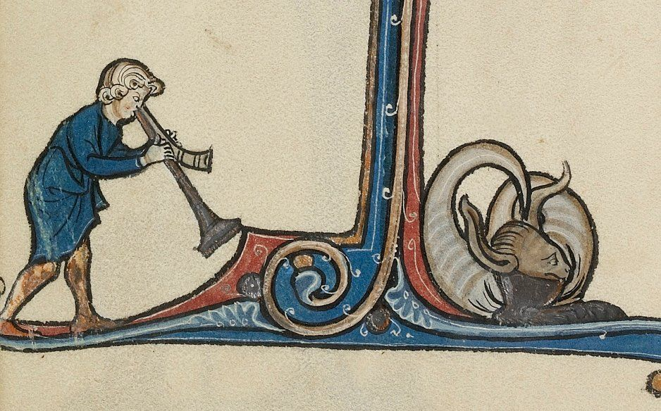 Rise and shine! @GettyMuseum Ms. 46, fol. 77v