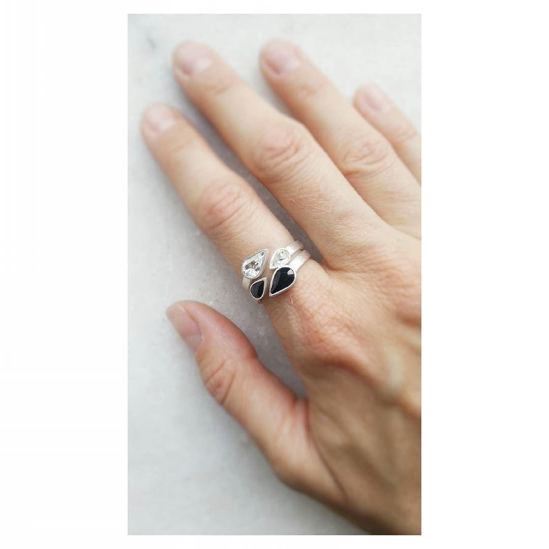 Bom dia com uma prévia das novidades... #anel #swarovski #design #feitoamao