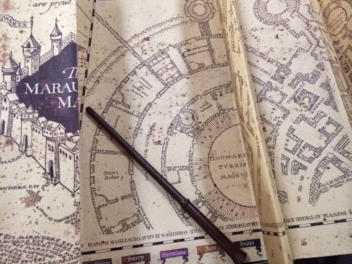 Interactive Marauder's map