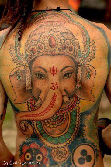 Tattoo Lord Ganesha