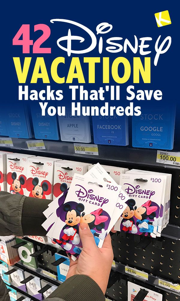 Disney Vacation Hacks That Will Save You Hundreds #disney