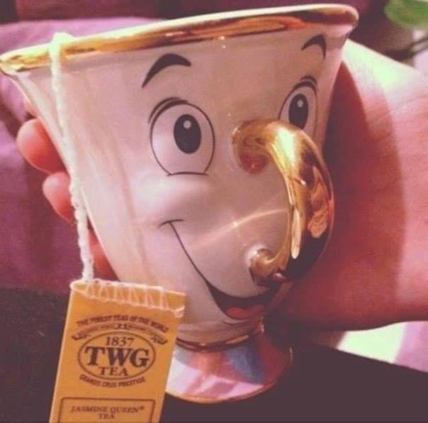 linda taza de té