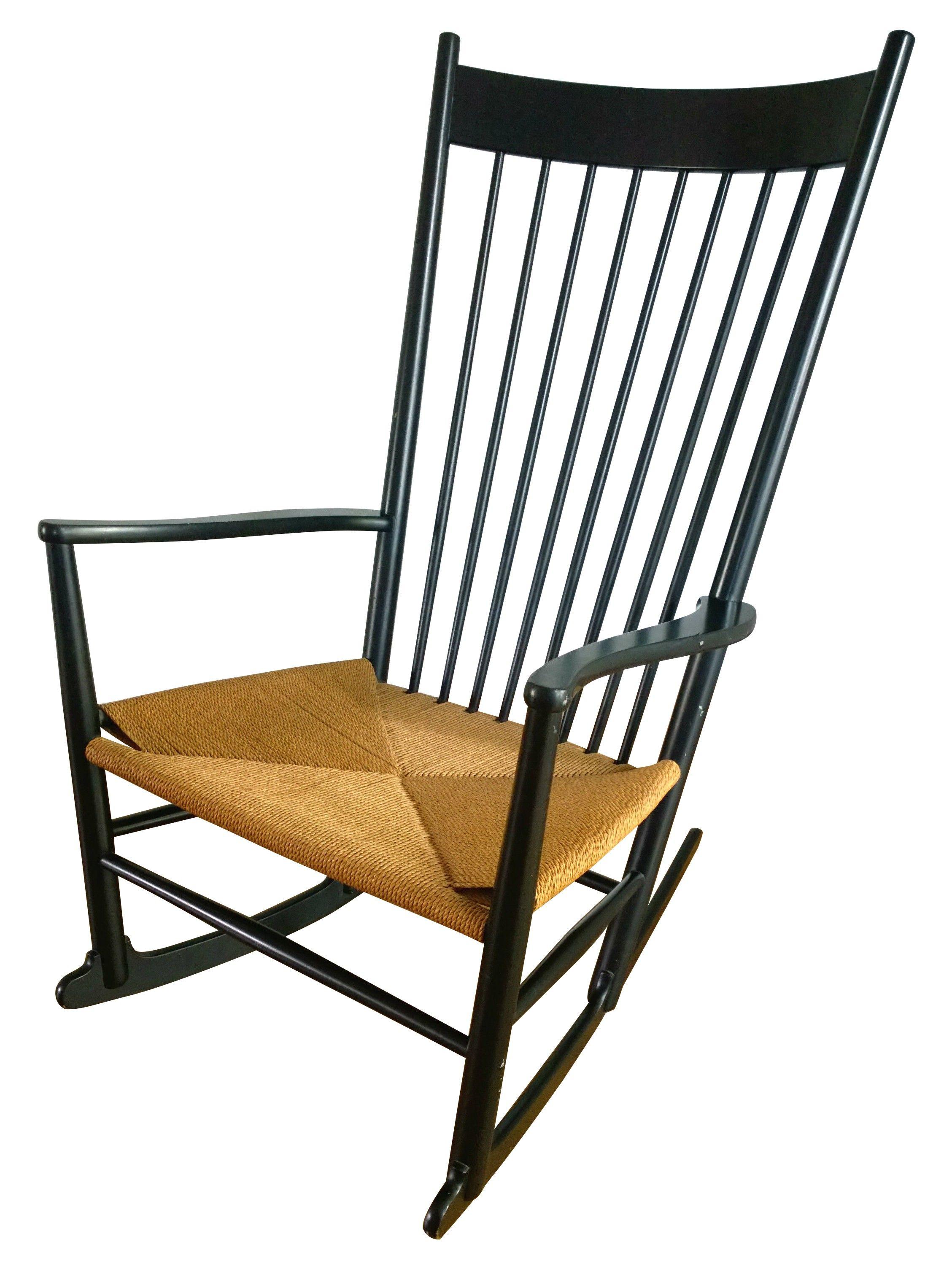 Rocking Chair J16 In Beech Hans Wegner 1966 Design Market Rocking Chair Painted Rocking Chairs Chair