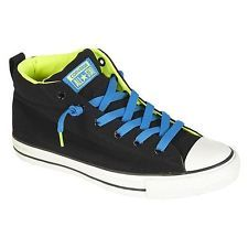 Converse Chuck Taylor All Star Men's Gray/Blue Street Mid High Oxford Size 13