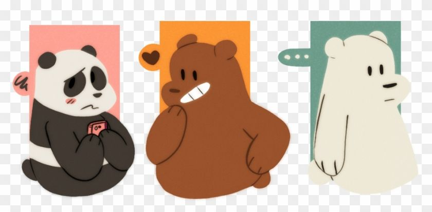 Find Hd 37 Images About Webarebears On We Heart It Panda We Bare Bears Fanart Hd Png Download To Search And Download M We Bare Bears Bare Bears Bear Art