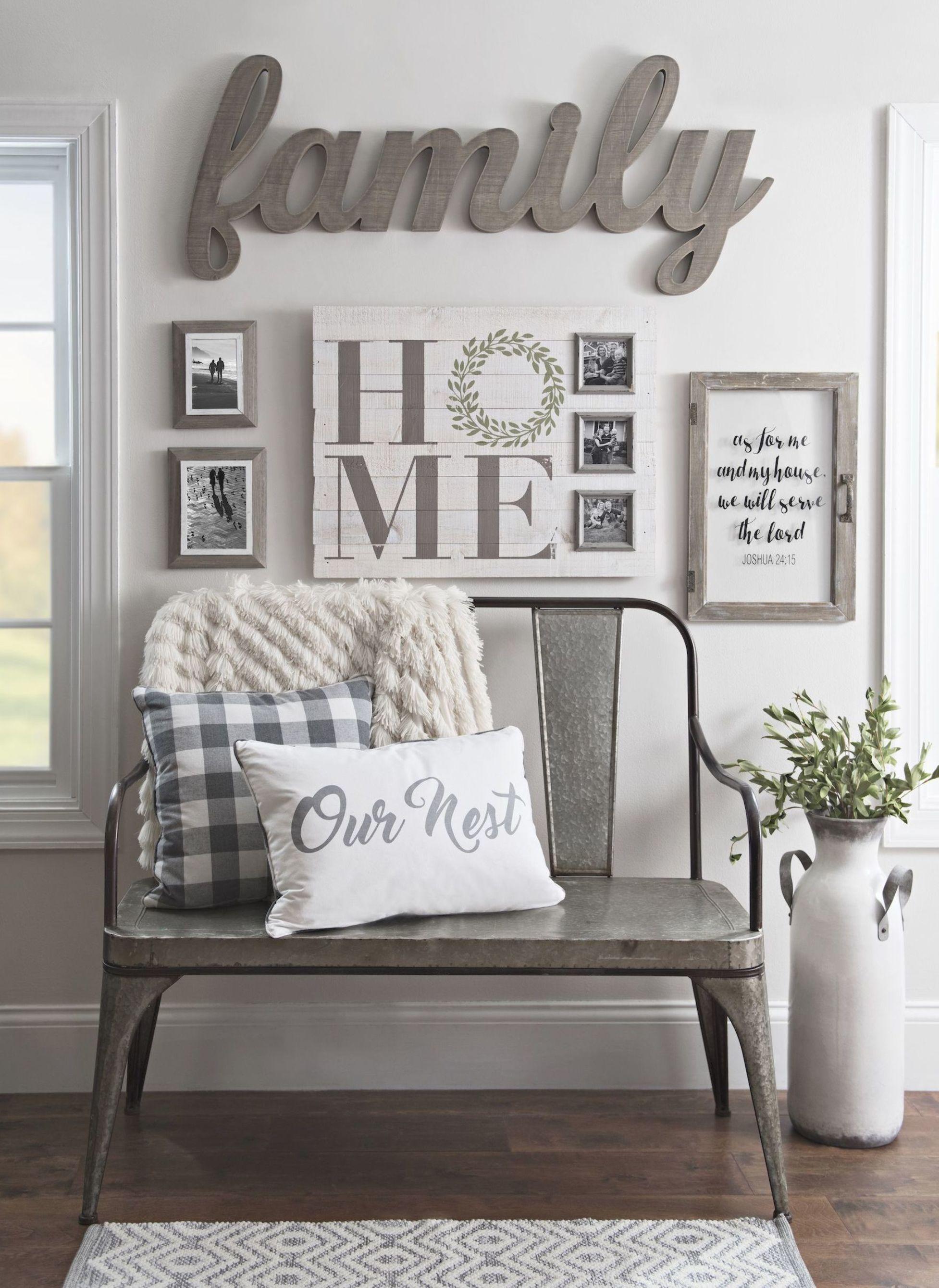25 Easy Home Decorating Ideas Wall Decor Living Room Cheap Apartment Decorating Farmhouse Decor Living Room