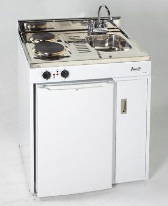 Avantiu0027s All In One Kitchen Has Two Electric Burners, Mini Sink, Mini