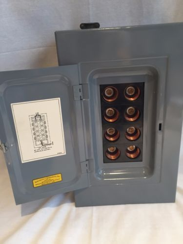 Vintage AMERICAN CLARK 60 Amp Fuse Electrical Panel 13