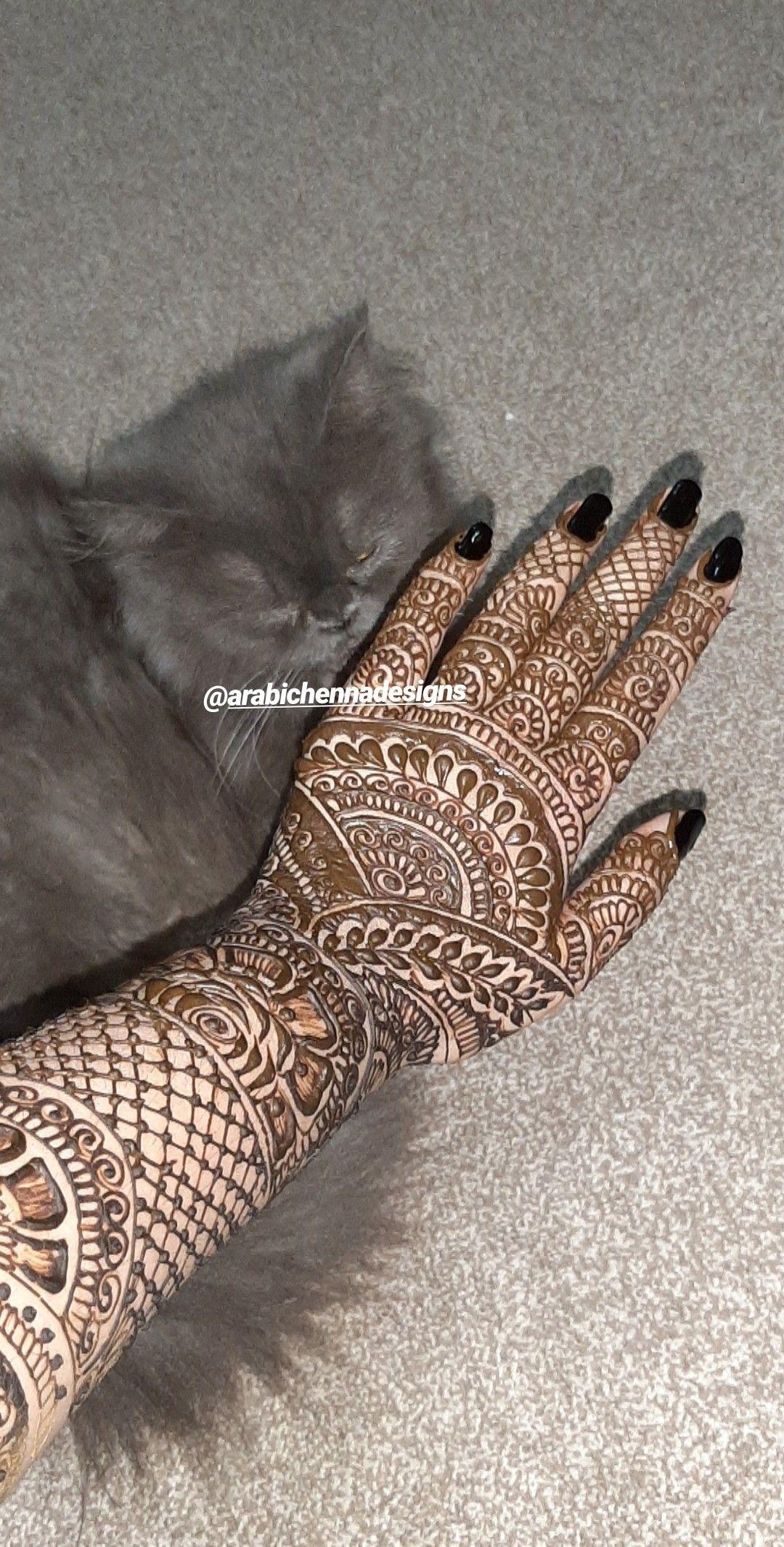 Bridal henna design Bridal henna, Henna designs, Bridal