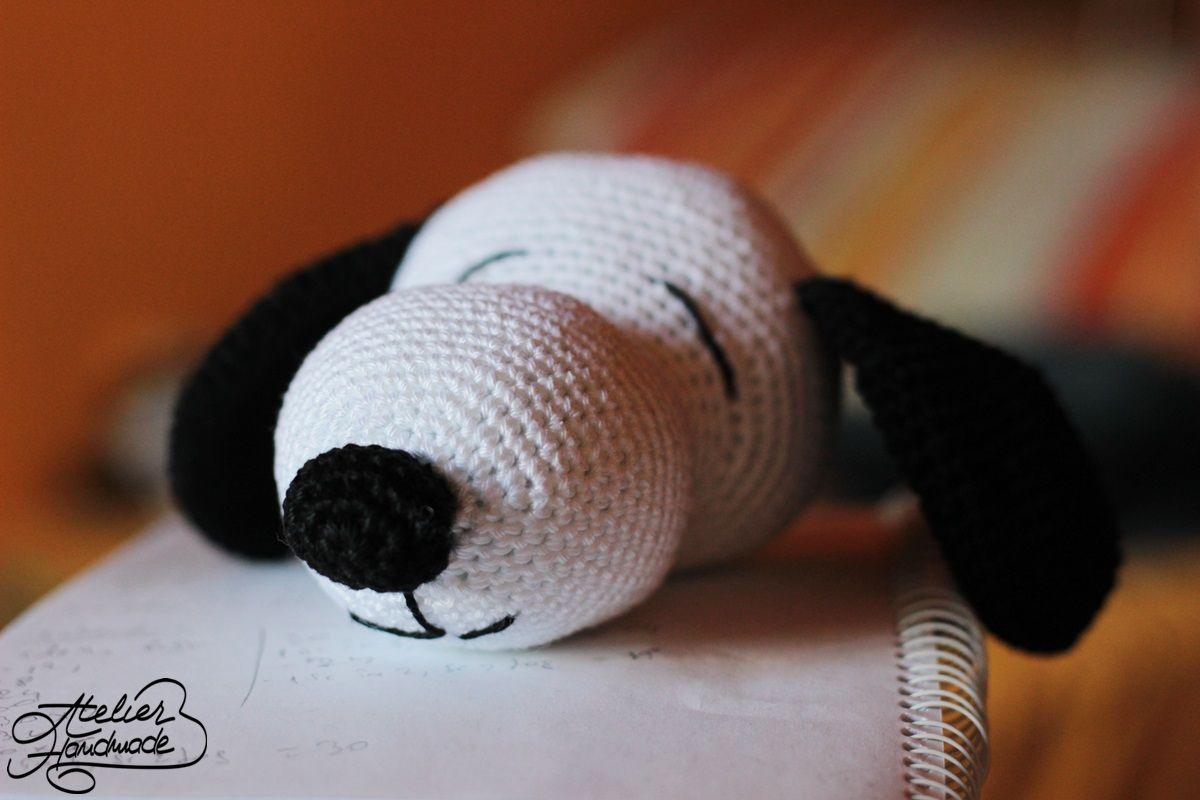 Amigurumi Tutorial Snoopy : Free pattern snoopy amigurumi. tutorial gratuit pentru snoopy. cum