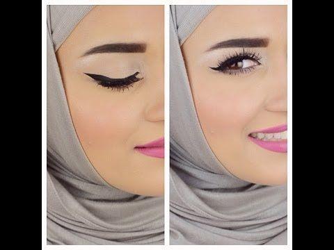 Eyebrows Eyeliner Tutorial كيفية رسم الحواجب والايلاينر Simple Skincare Eyebrow Trends Makeup Base