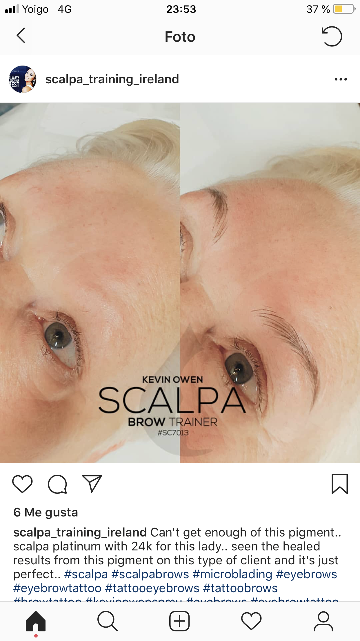 Pin by Silvia on microblading Threading eyebrows