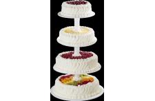 Pièce Montée Tutti Frutti , Gâteau de mariage , Pâtisserie