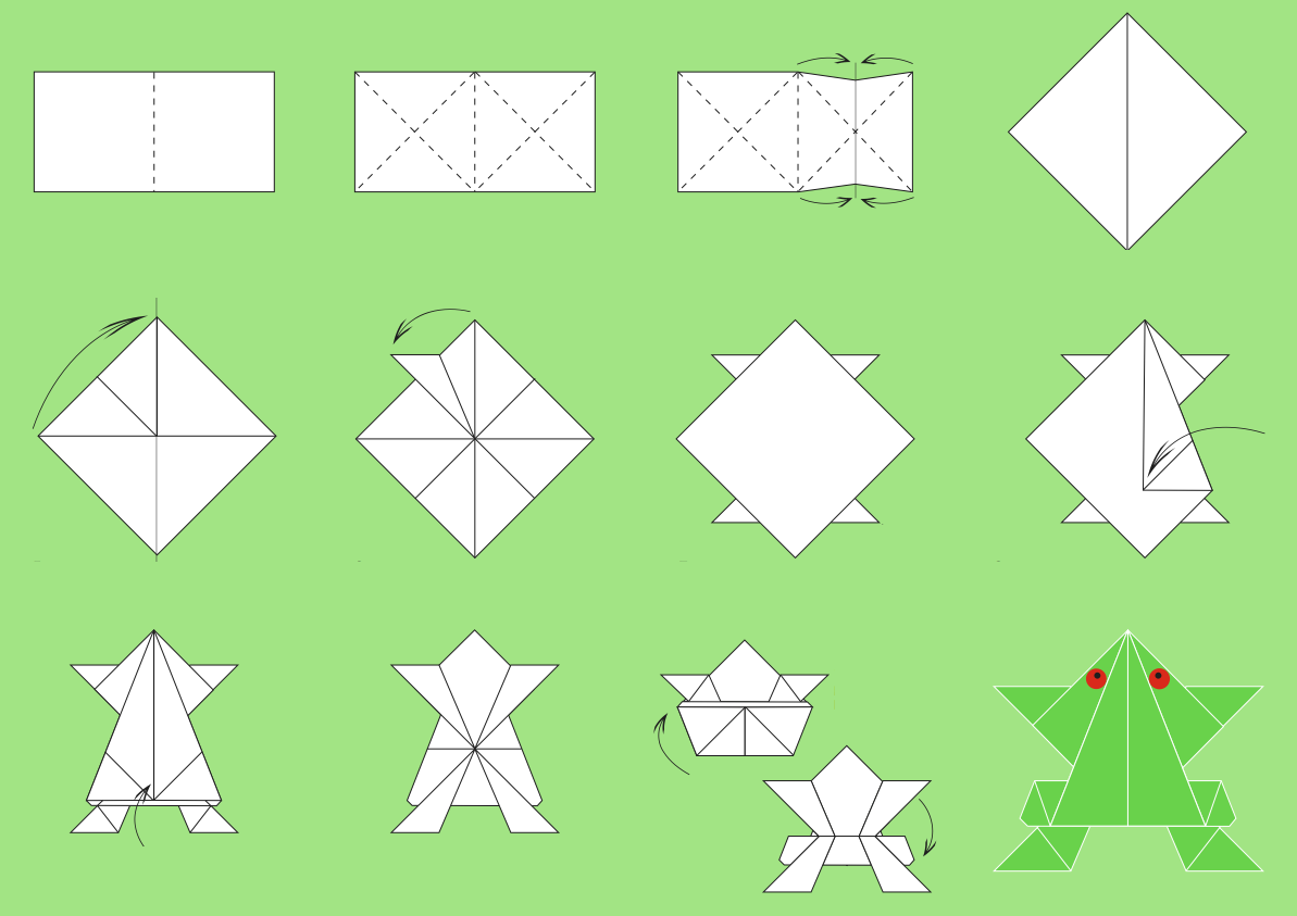 Origami origami paper folding step by step easy origami origami origami paper folding step by step easy origami instructions for jeuxipadfo Image collections