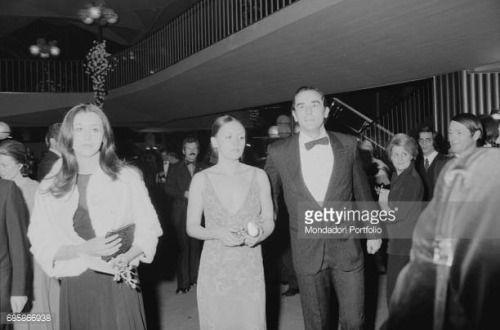 05 30 Italian Actor Vittorio Gassman With His Wife Diletta Vittorioveneto 05 30 Italian Actor Vittorio Gassman With Vittorioveneto
