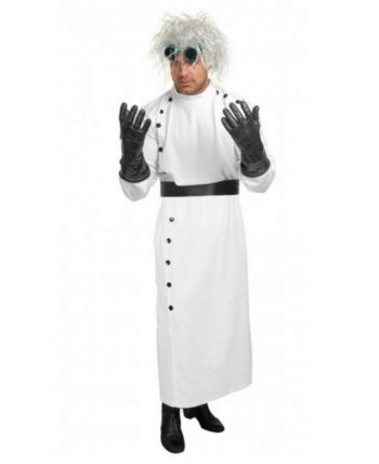 Men's Mad Scientist Adult Costume #area51partyoutfit
