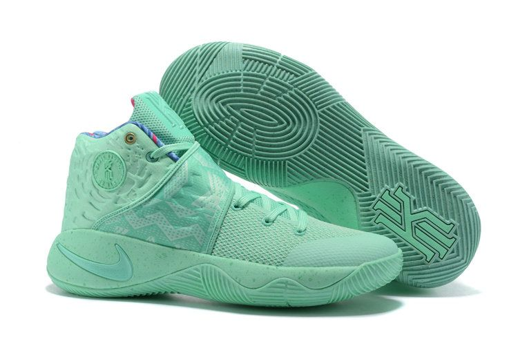efa419cd1ab9 Real WHAT THE KYRIE NIKE KYRIE 2 MINT GREEN ...