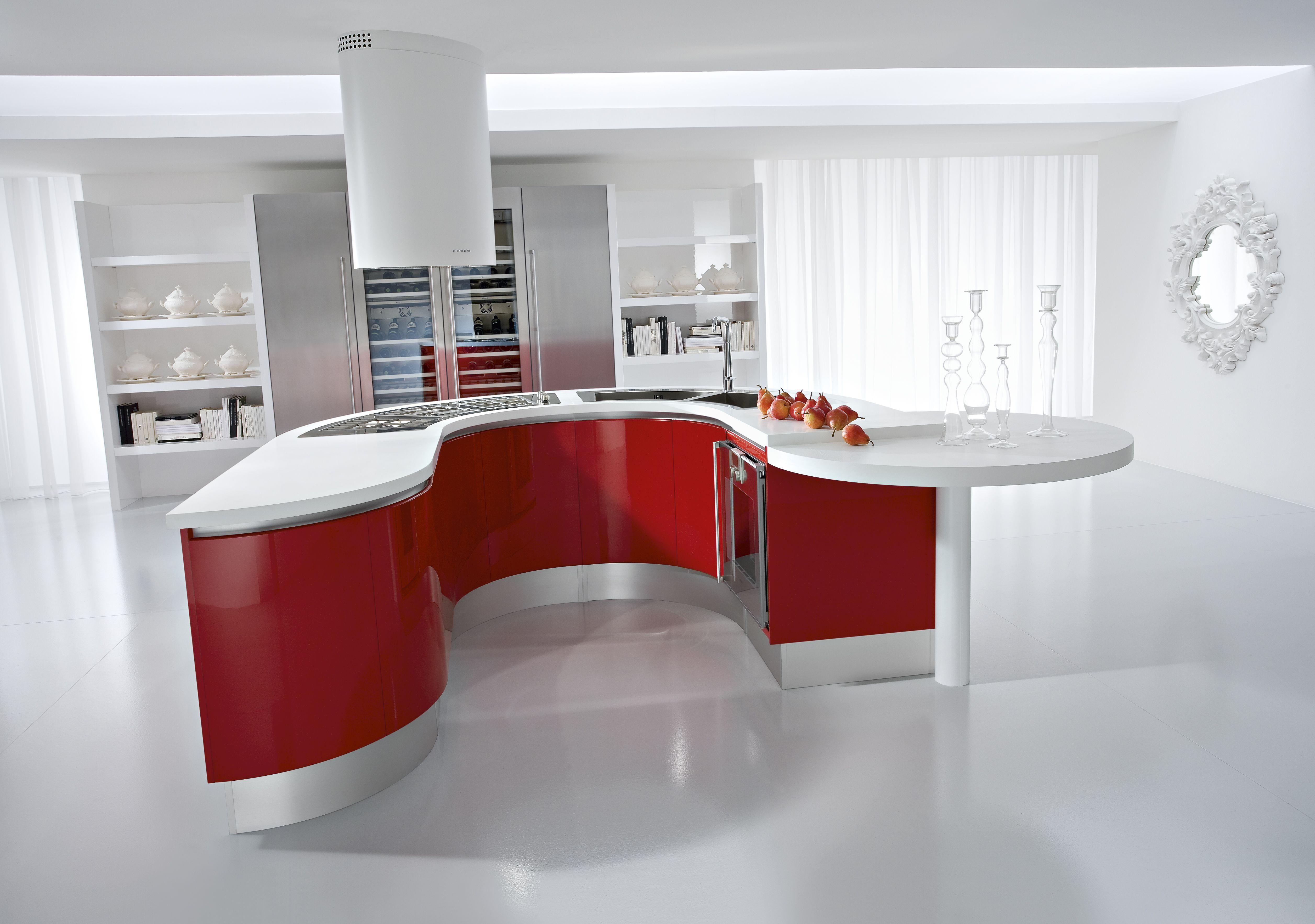 Artika kitchen design nyc sensual and curvy let artika take