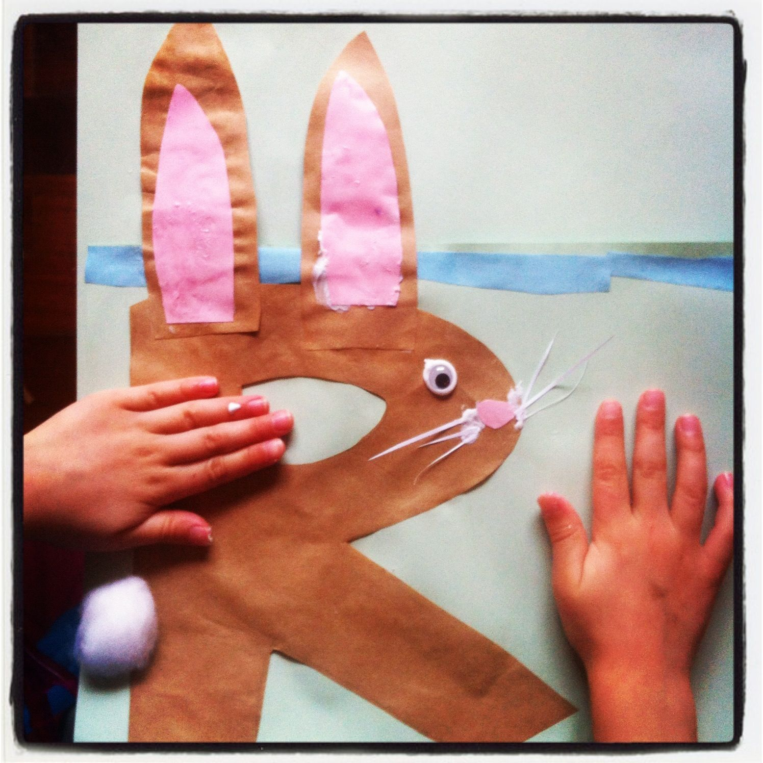 R Is For Rabbit Craft