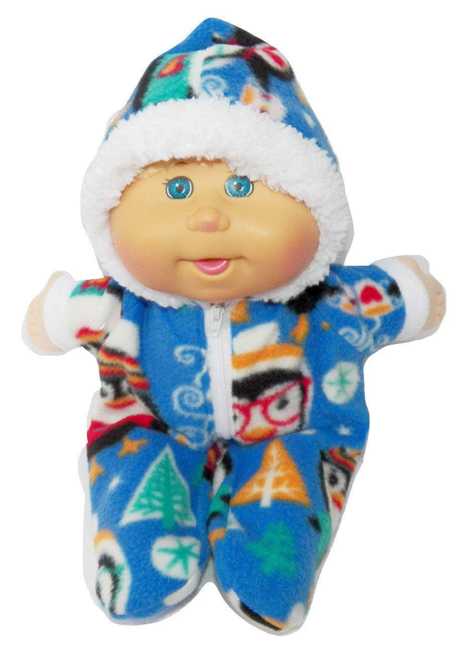 Cabbage Patch Doll Clothes 16 Inch Boy Size Black Plaid Snowsuit