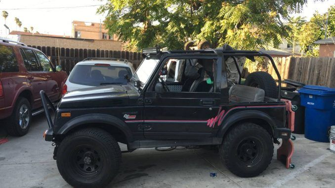 1987 Suzuki Samurai Soft Top For Sale In Los Angeles California