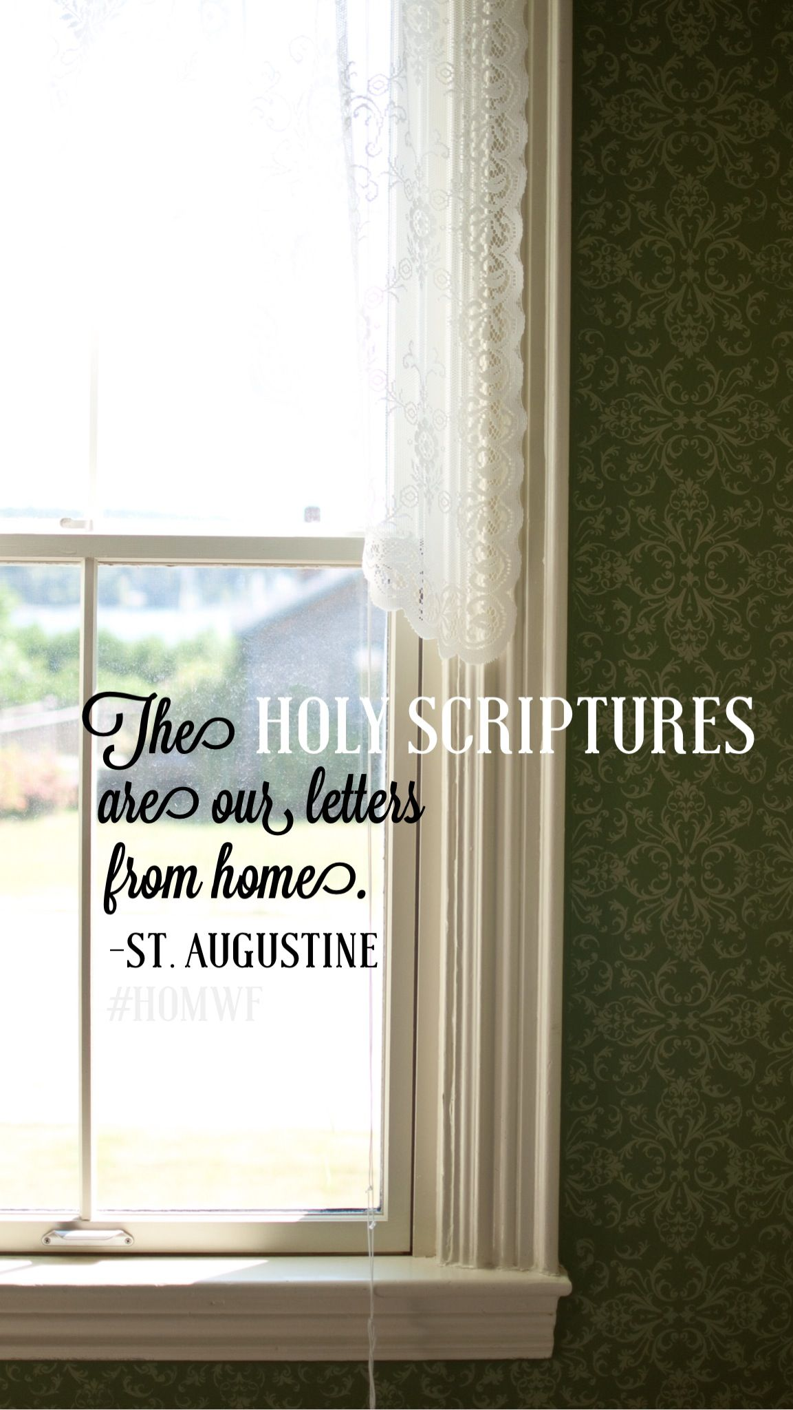 Art for the Heart - Letters from Home St Augustine Lock screen