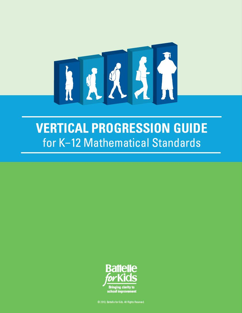Vertical Progression Guide, Math K-12 | Common cores, Guided math ...