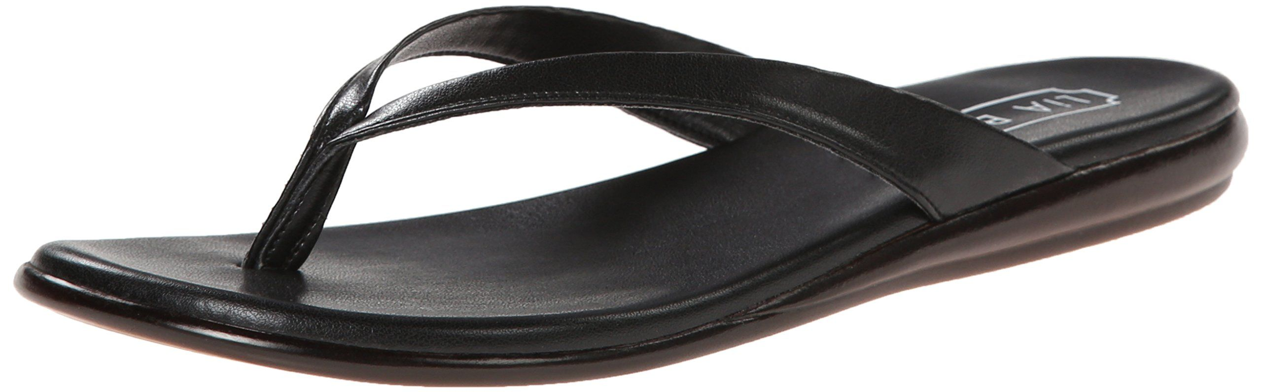Lia Bijou Womens Sabina Flip Flop Black 11 M US     Continue to the product  at the image link. (This is an affiliate link)  womenssandals ce588843b922