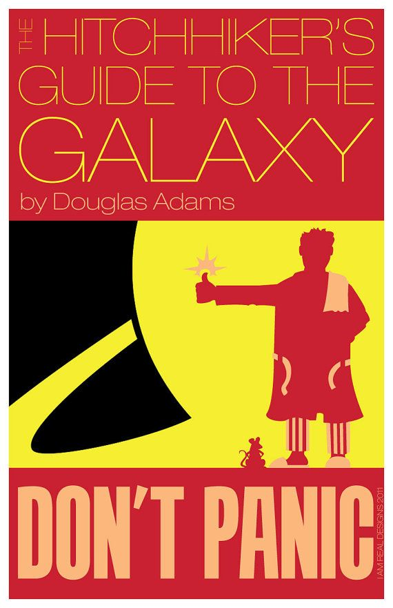 The Hitchhikers Guide To The Galaxy 11X17 Inch Poster -8956