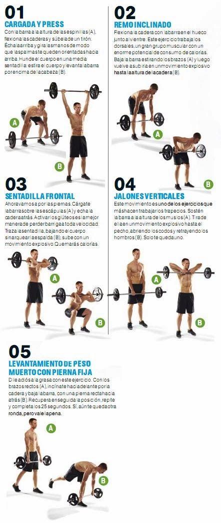GIMNASIO - QUEMA LAS CALORIAS DE LOS EXCESOS EN 20 MINUTOS | Aptitud Fitness