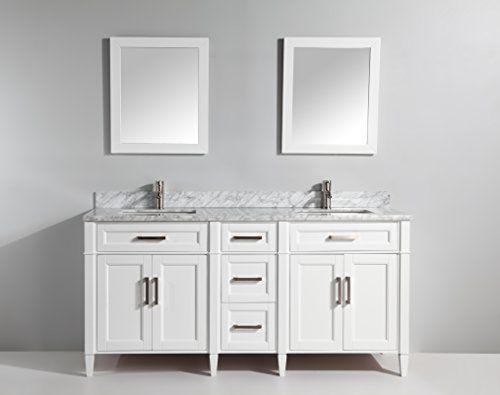 Vanity Art 72 Inch Bathroom Set, Frameless Vanity Mirror 72 Inches
