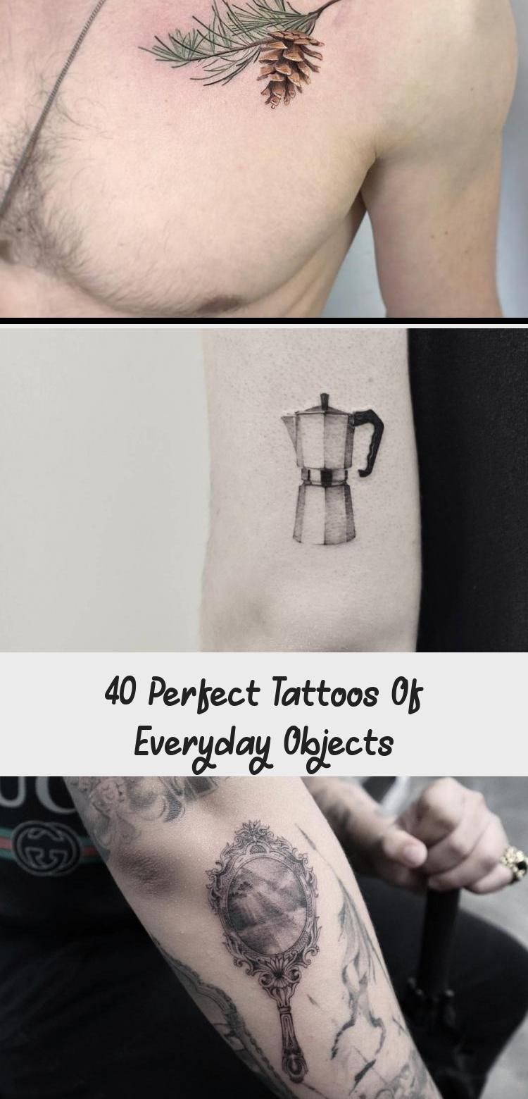 40 Perfect Tattoos of Everyday Objects - TattooBlend
