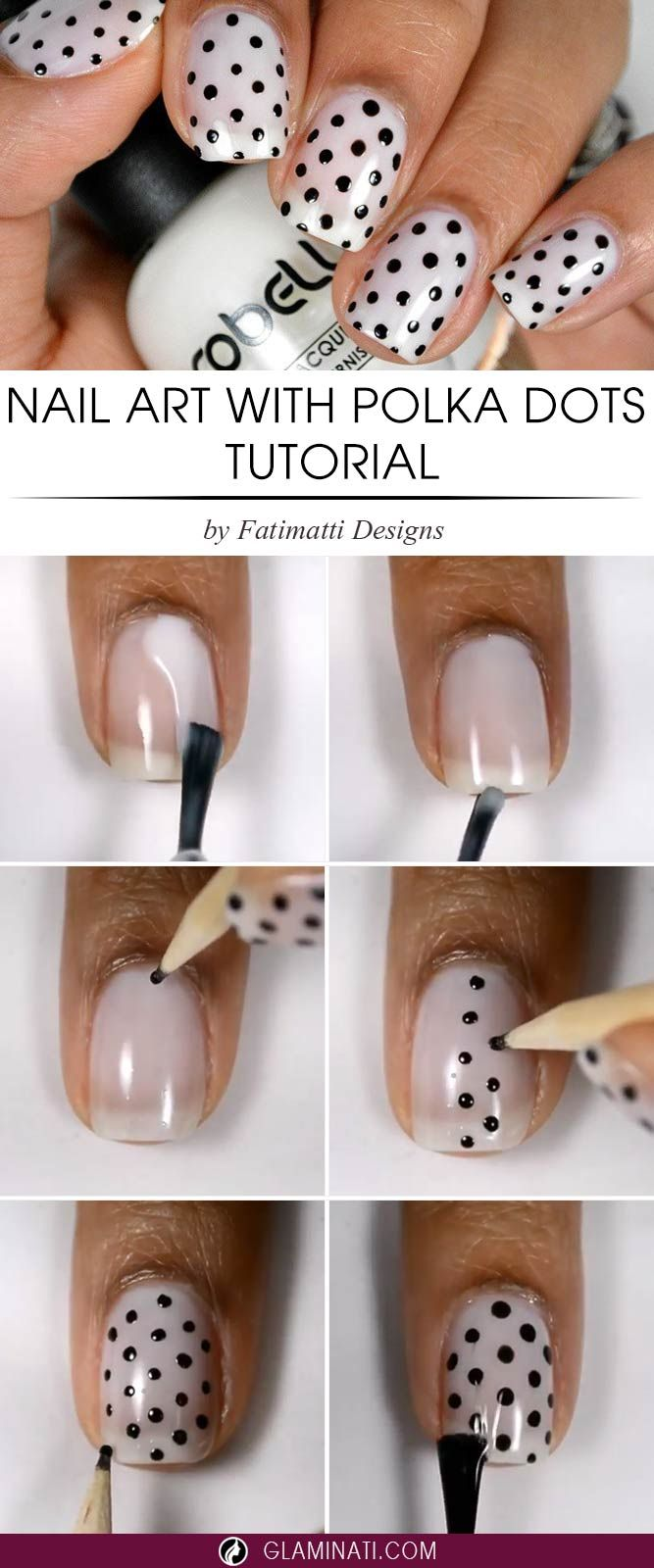 7 Three-Step Easy Nail Designs You Will Absolutely Love | Nail ...
