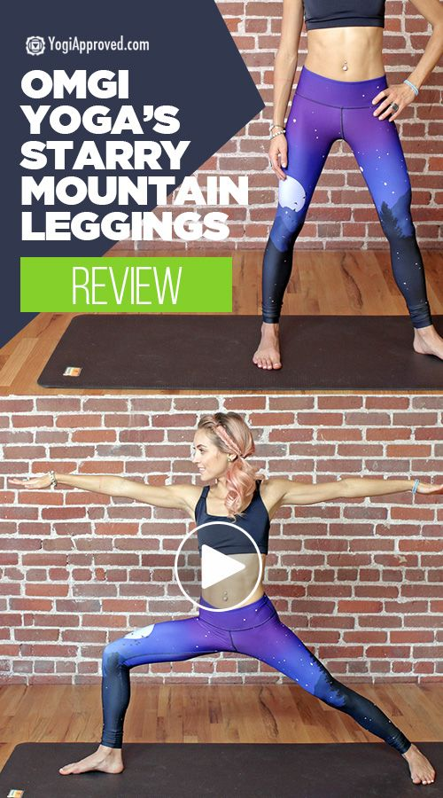 Review of OMGI Yoga's Starry Mountain Leggings