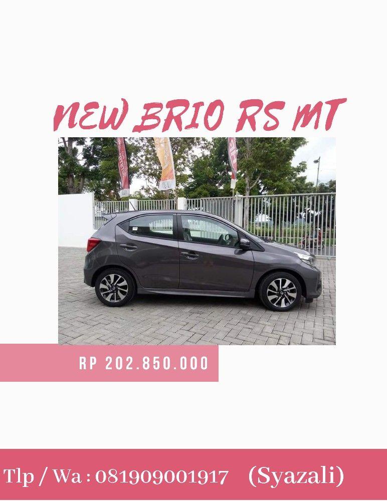 Harga Terbaru New Honda Brio Mataram Lombok Ntb 2020 Honda Mobil