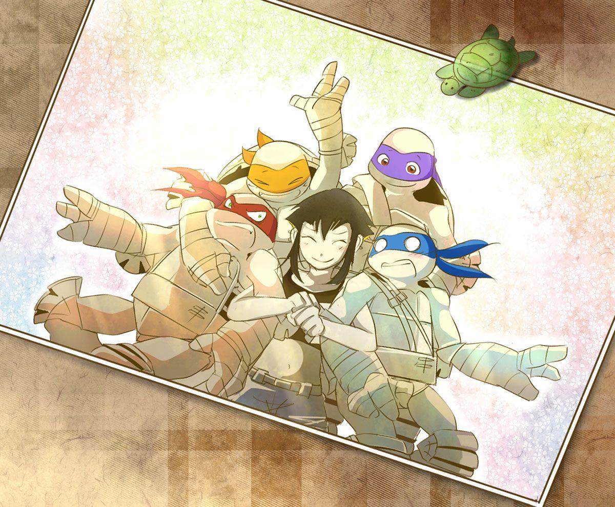 Awwww Cute Ninja Turtles Art Tmnt Comics Teenage