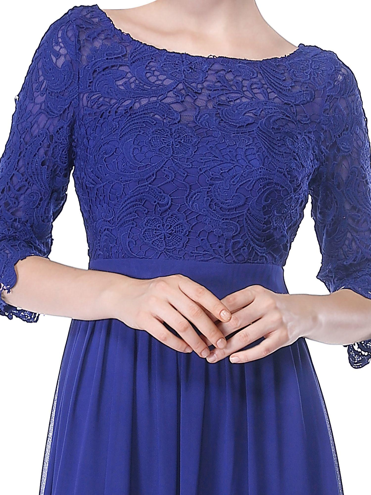 cd38eccb36b68 Ever-Pretty Women's Elegant Long Formal Evening Party Dresses with 3 ...