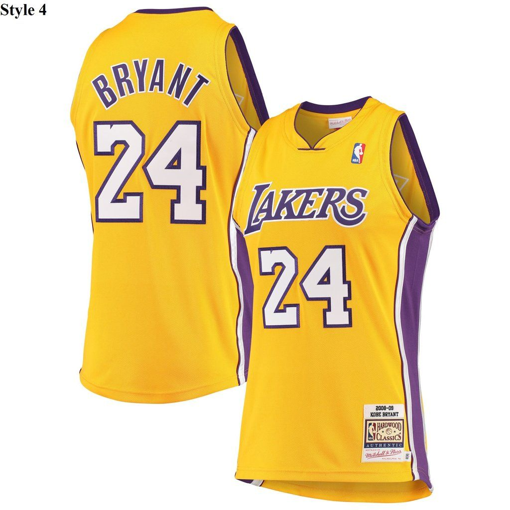 Kobe Bryant Authentic Player Jersey Nba 4 Styles In 2020 Kobe Bryant Lakers Kobe Kobe Bryant Shirt