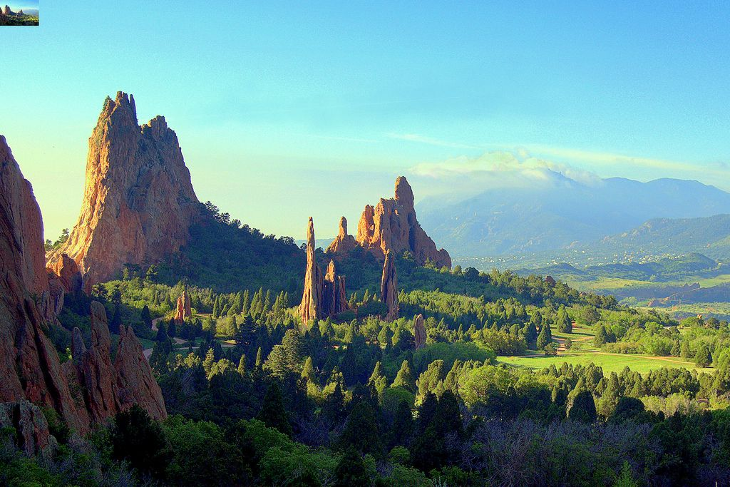 Garden of the Gods in Colorado | The GREAT Outdoors | Pinterest ...