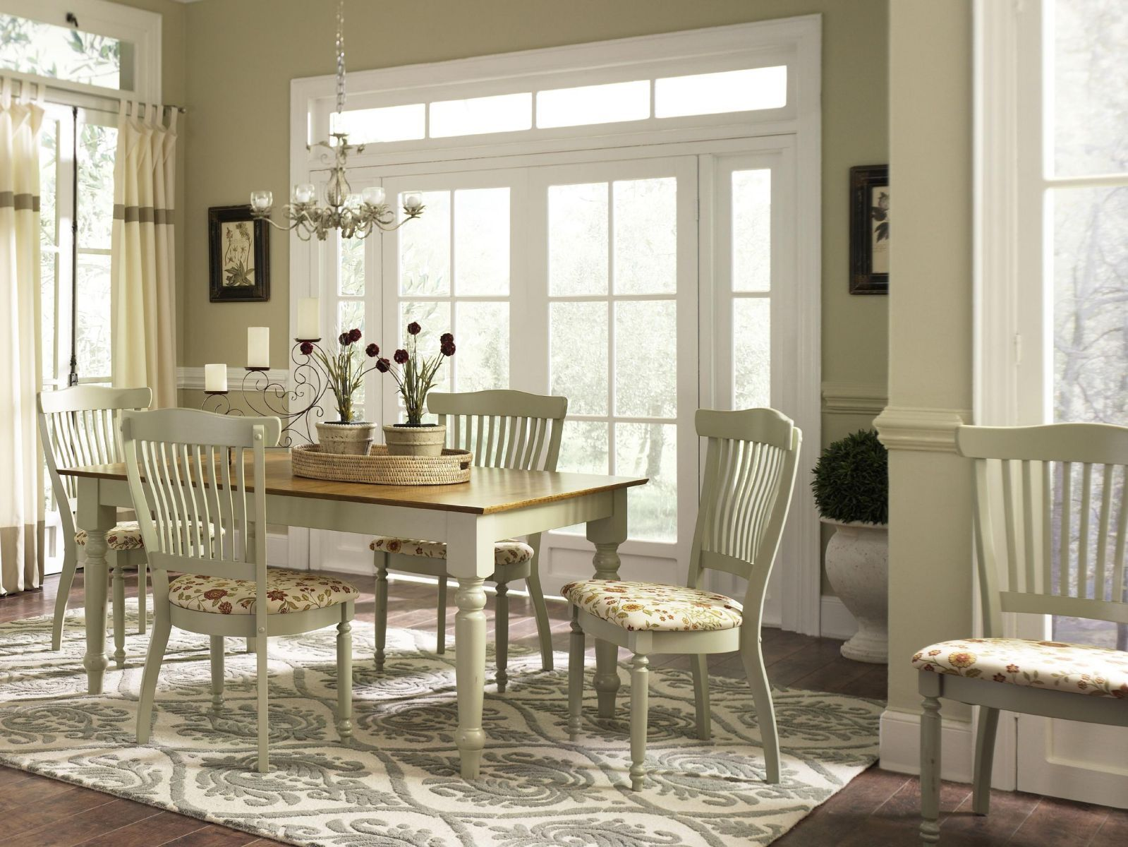 captivating stair living room dining | Captivating Country Dining Room Designs to Inspire You ...