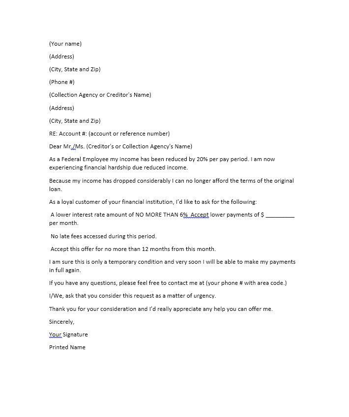 Hardship Letter Template 27 sherwrght@aol Pinterest - employment offer letter