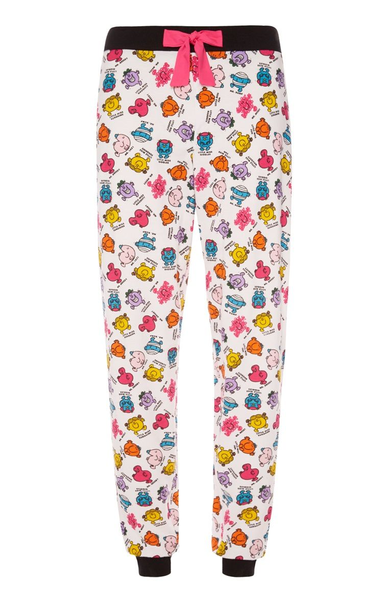 Mr Men Mens Pajamas