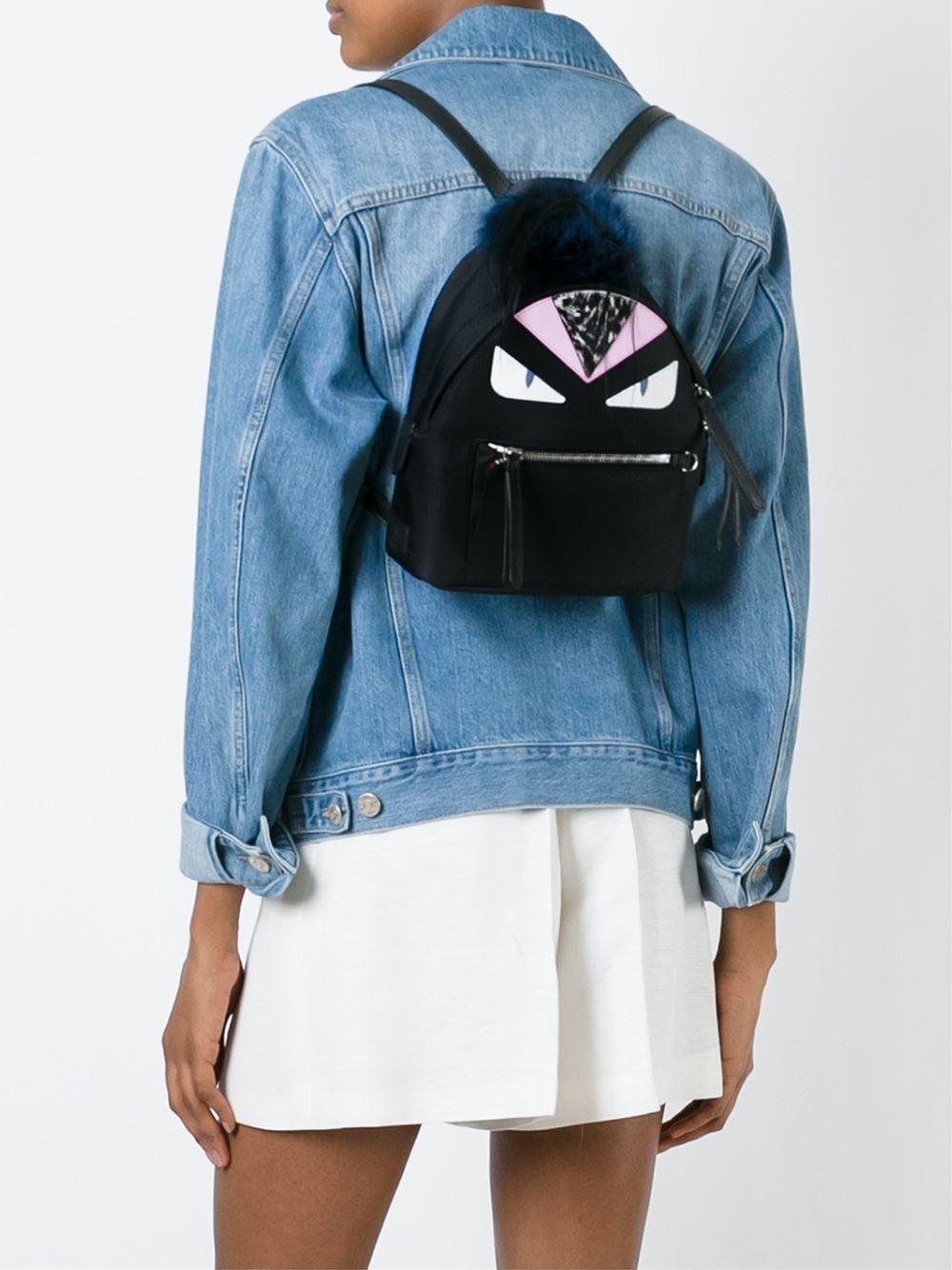 Fendi mini Bag Bugs backpack  feda40ad55809