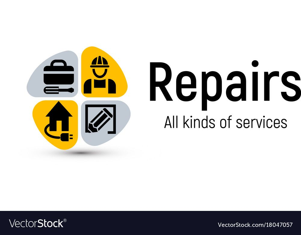 Home Repair Tools Logo House Renovation Royalty Free Vector Sponsored Tools Logo Home Repa Banner Template Design Logo Design Template Abstract Logo