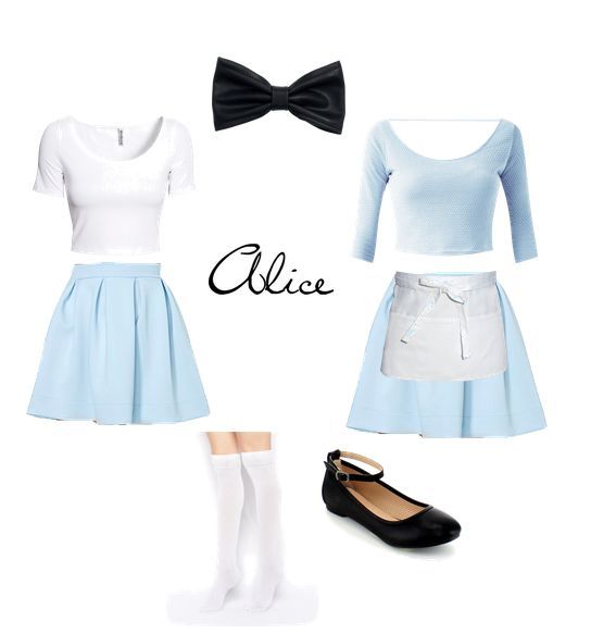 Modern Alice In Wonderland Disney Inspired Outfits Casual Party