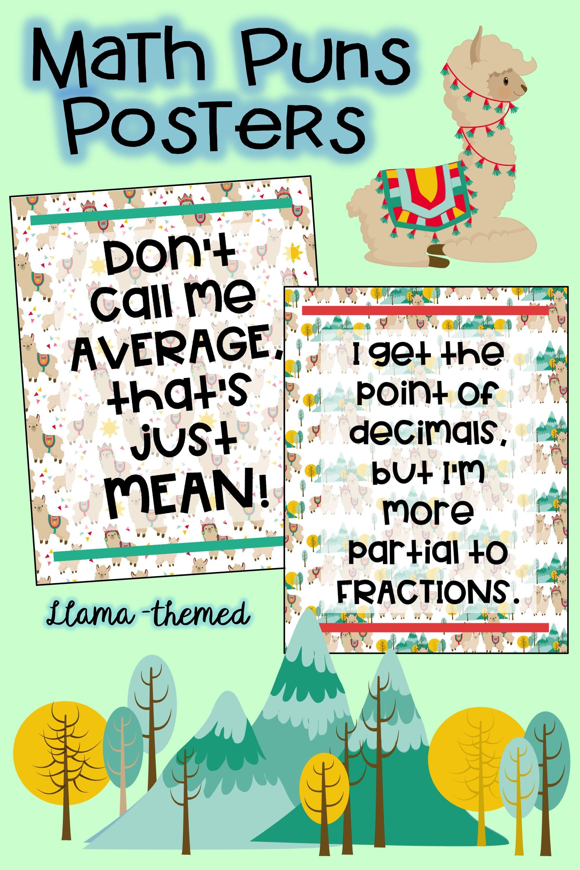 High School Math Posters